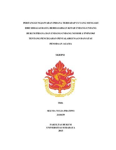 Kitab Undang-undang Hukum Pidana Pdf