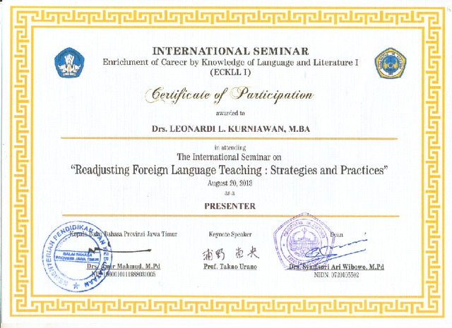 Teachers Empowerment: Strategies in Foreign Language Instruction
